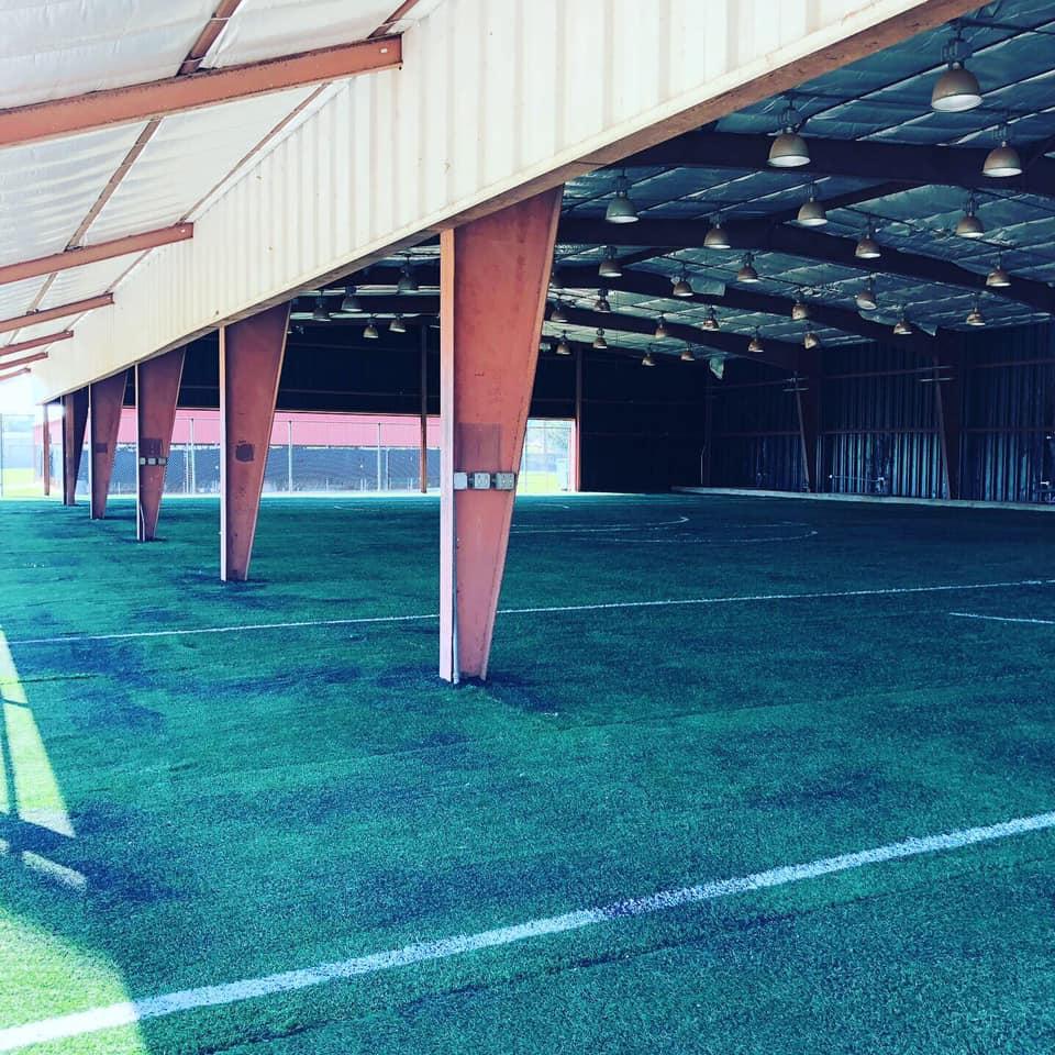 orlando city soccer training facility before image