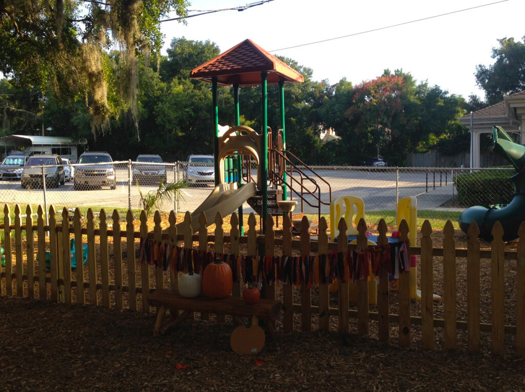image of before playground at first presbyterian church of eustis