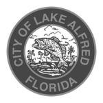 logo of city of lake alfred