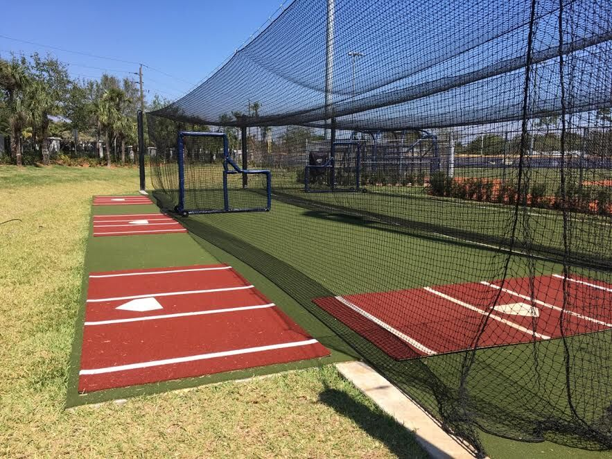 image of batting cages